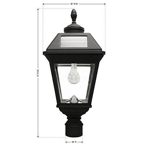 Bulb Light Mount, Black