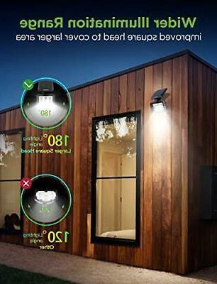 InnoGear Solar Lights 6 Landscape Spotlights White