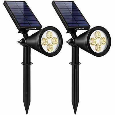 InnoGear Solar Lights Outdoor, Upgraded Waterproof Solar Pow