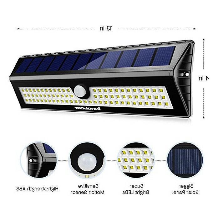 InnoGear Upgraded Solar Lights Motion