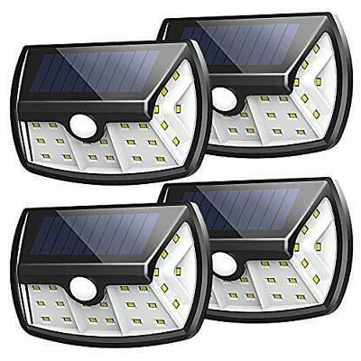InnoGear Upgraded Solar Lights Outdoor Motion Sensor Light w
