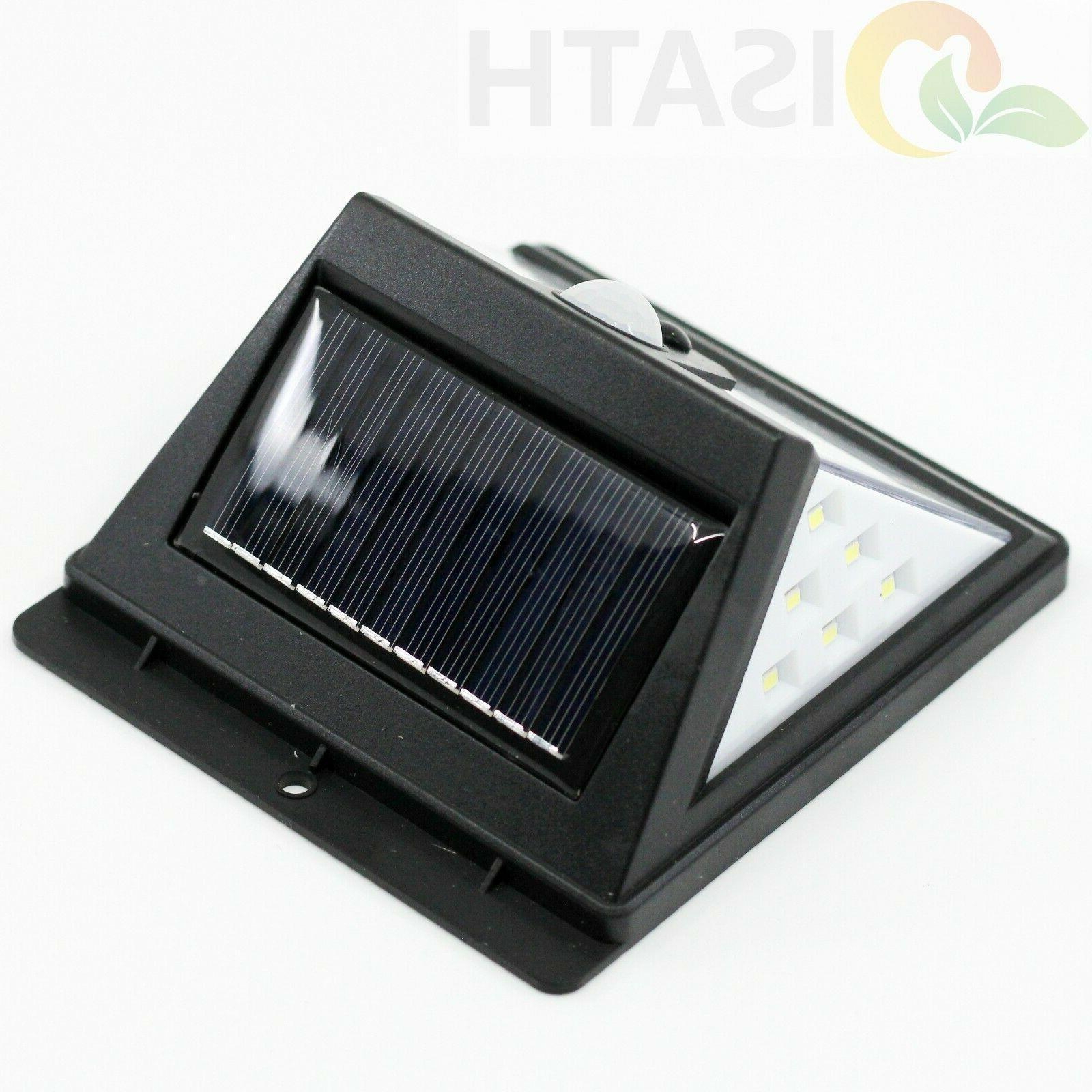 ISATH 40 LED Solar Wall Lights Garden Yard Lamp