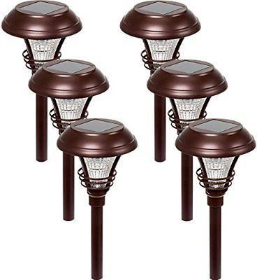 Kenbury LED Garden Solar Path Lights 10 Lumens - Water Resis