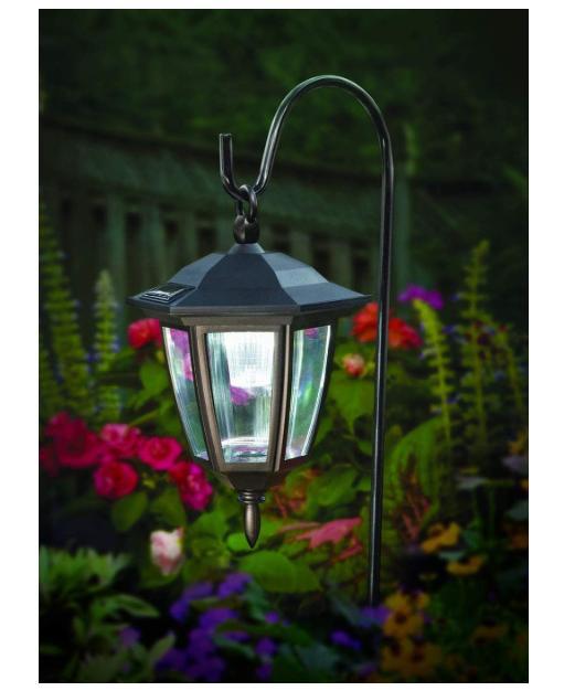 Maggift Lantern Outdoor Shepard Path Hanging Solar Lights, 2