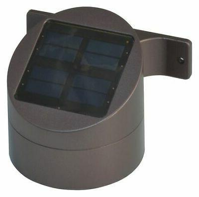 LED Deck Sconce,Outdoor Solar,Rubd Brnze MOONRAYS 91851