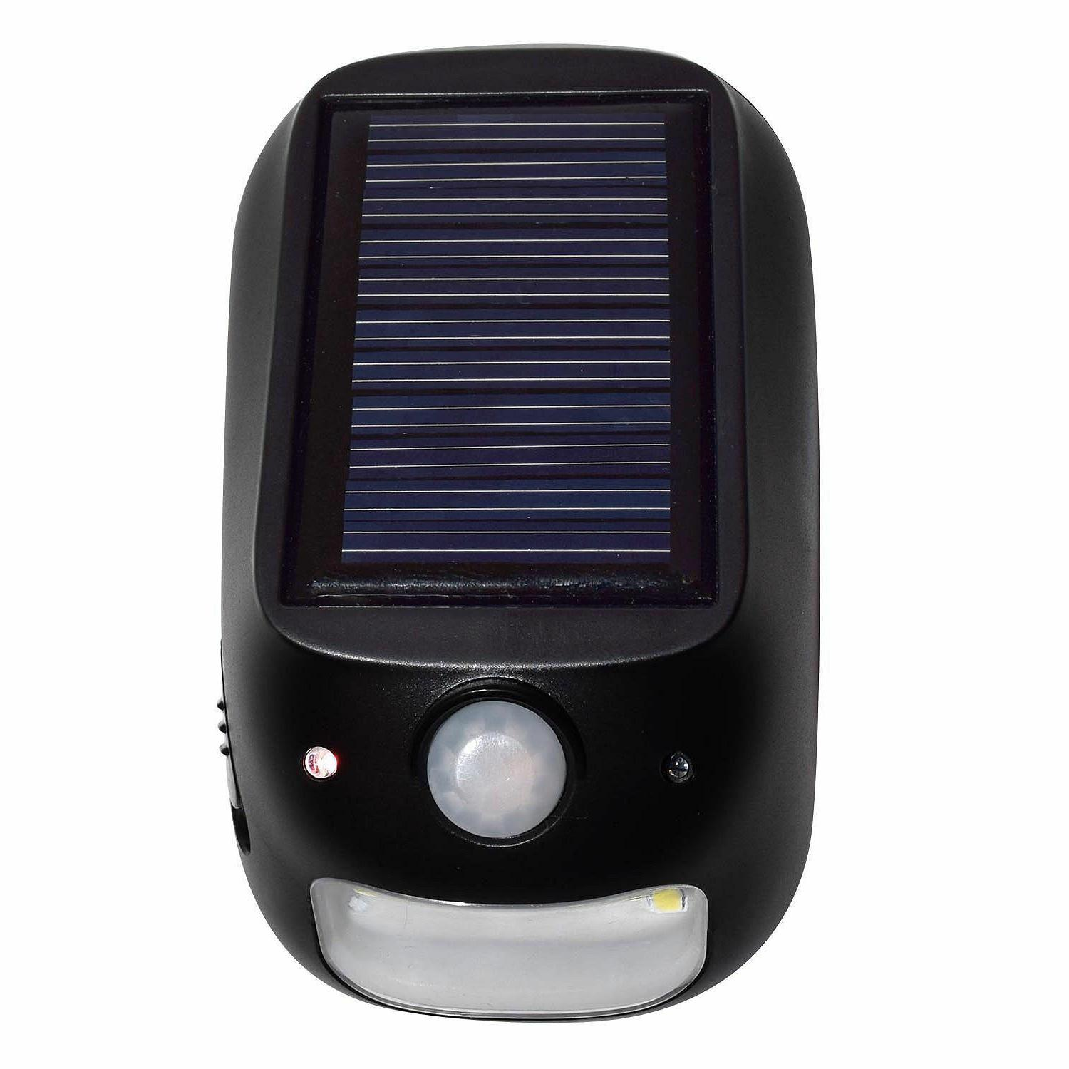 Hoover LED Mode Security Solar and Battery Power Pack -
