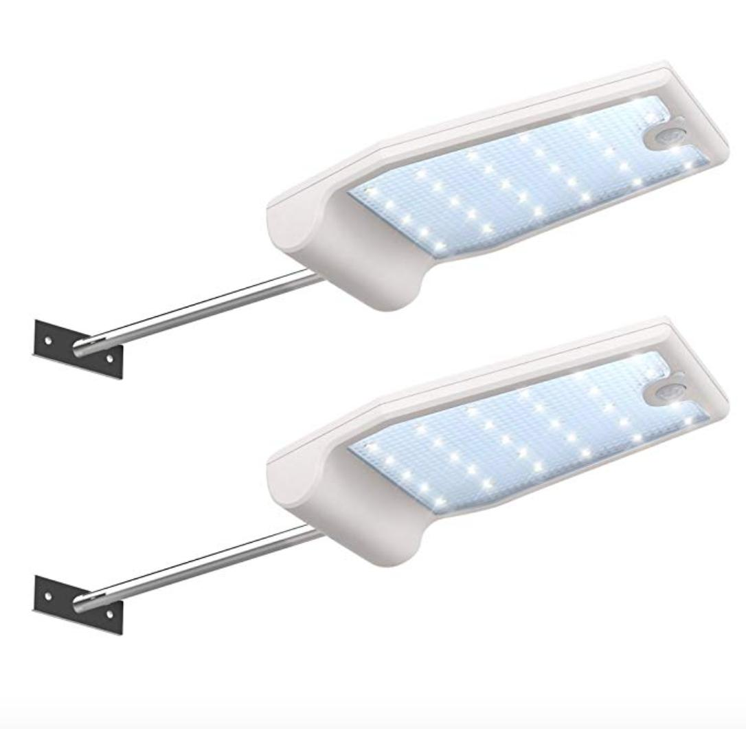 led exterior lights solar home security outdoor