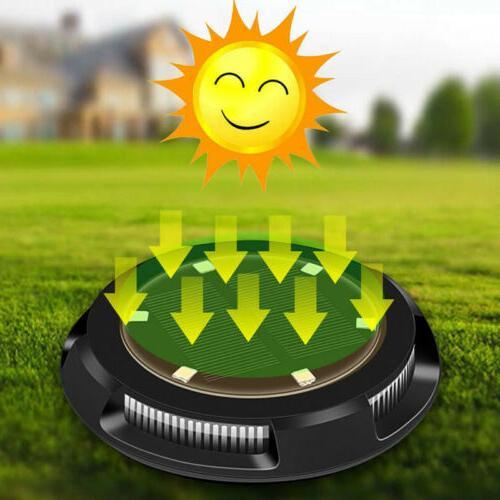 LED Solar Power Ground Lights Floor Decking Patio Outdoor Ga
