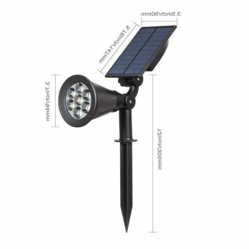 LED 7 LED Color changing Garden Solar Lighting
