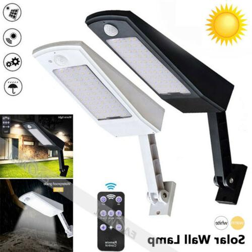 LED Sensor Solar Powered Security