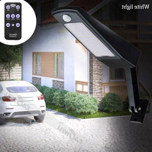 led waterproof pir motion sensor solar powered
