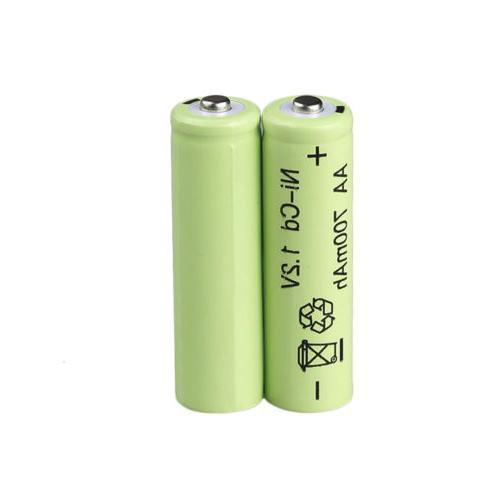 Lot Batteries NiCd Garden Solar Ni-Cd Light LED