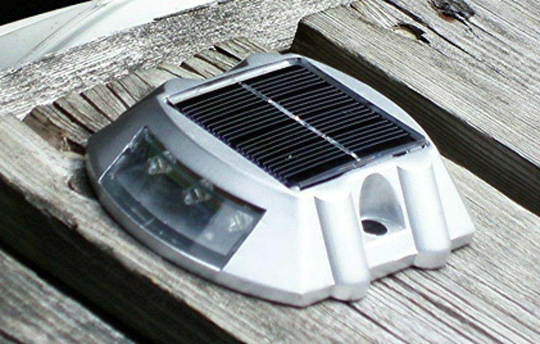 LOT Solar Pathway Driveway Lights Dock Path Road Marker OH