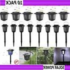 LOT Solar Powered LED Light Pest Bug Zapper Insect Mosquito