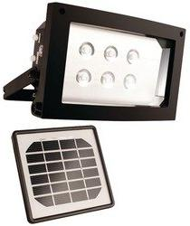 Maxsa Solar Powered Flood Light For Home And Outdoor