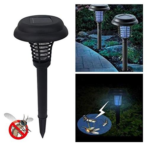 mosquito killer lamp solar powered