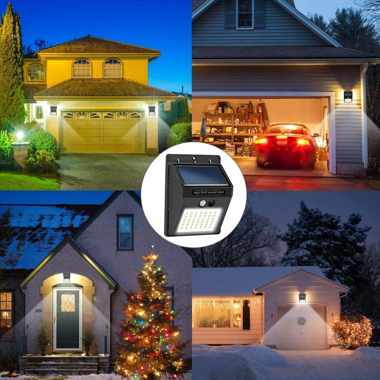 Motion Lights Solar Powered Outdoor 10 Wireless