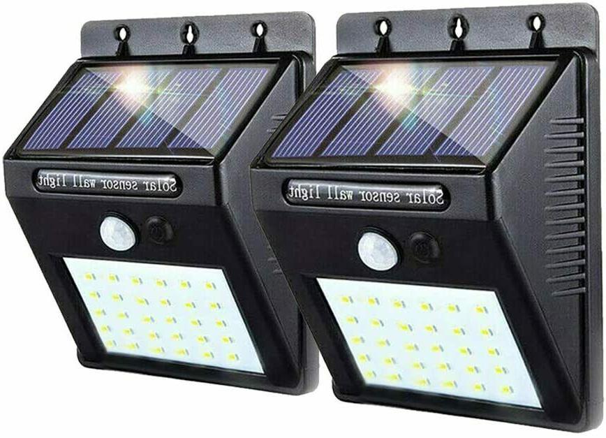 Motion Security Lights Solar 10 LED Flood