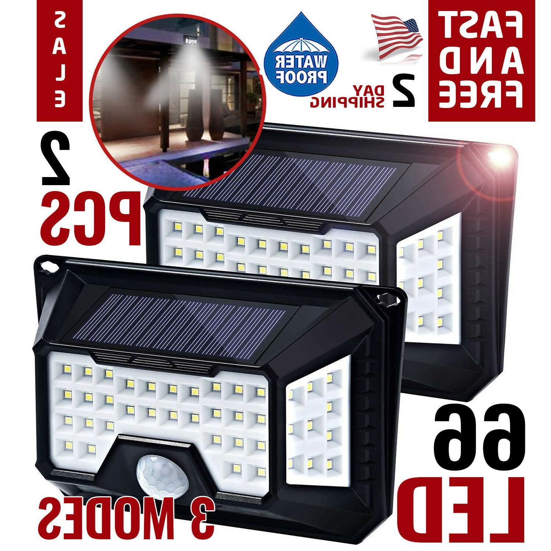 motion sensor light security lights solar powered