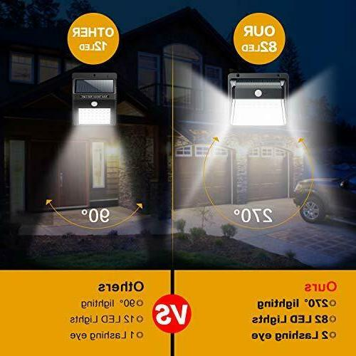Motion Activated Outdoor Security Wall Flood LED Lamp