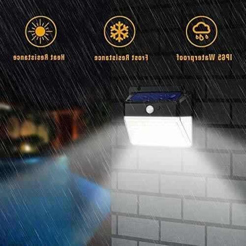 Motion Sensor Activated Security Deck Wall