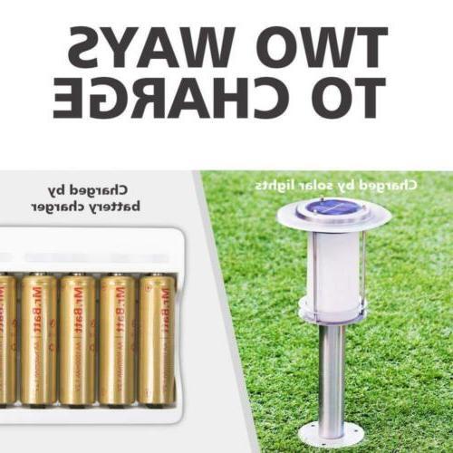Mr.Batt NiCD Rechargeable Batteries for Solar 1.2V