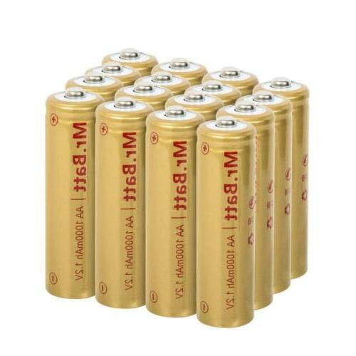 mr batt nicd aa rechargeable batteries
