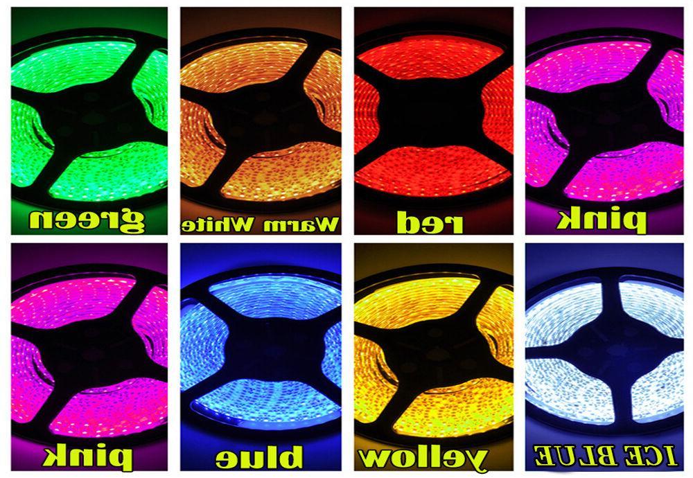 Multi Color Waterproof 3528 SMD LED Decor 12V