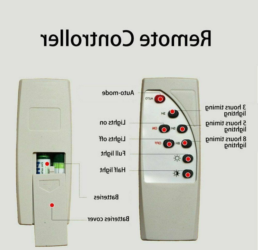 100W Powered Flood Control Security Light