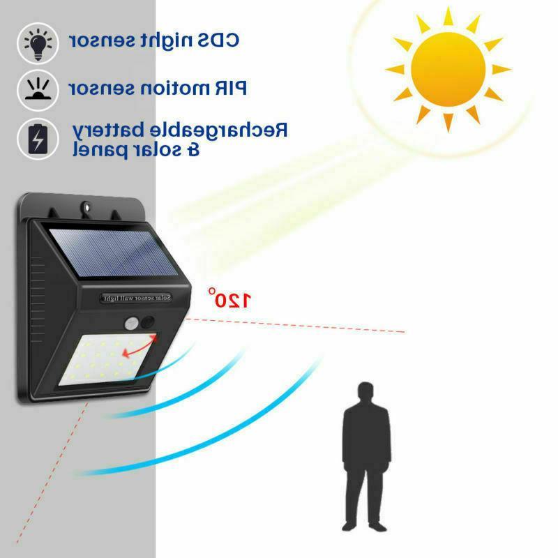 NEW 20 Solar Porch Sensor for
