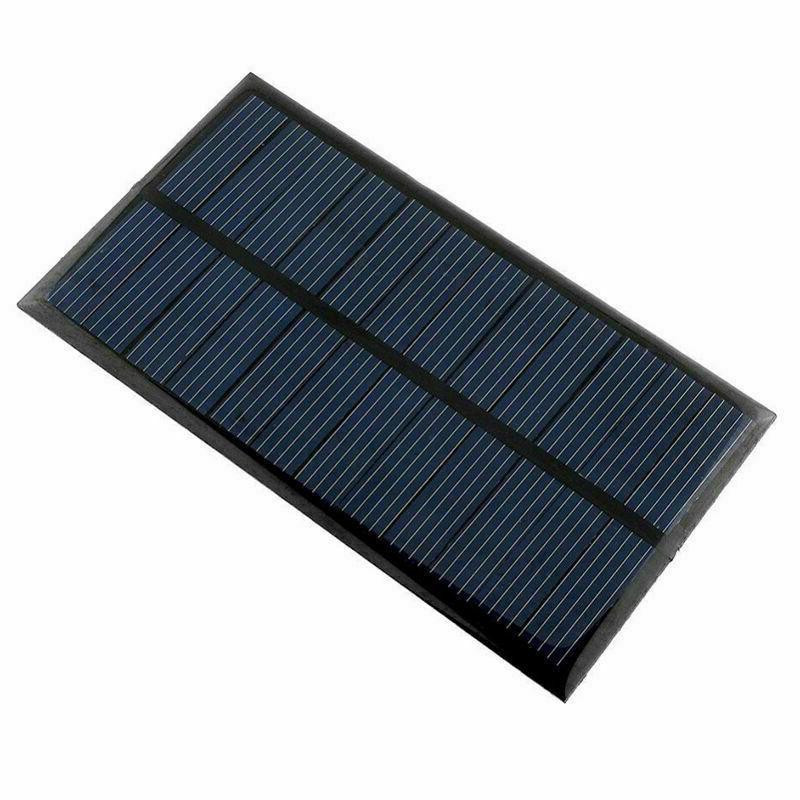 New 6 1 Watt Solar Module DIY For Light Ch Toy Mobile Phone F8I6