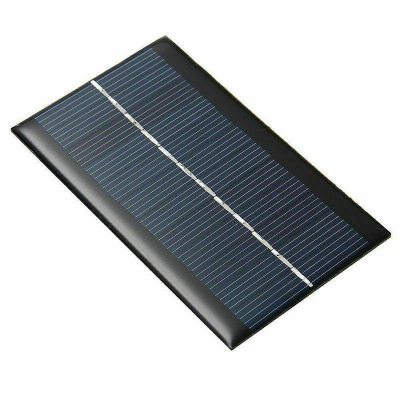 New 6 V Watt panel DIY For Battery Ch Mobile Phone F8I6