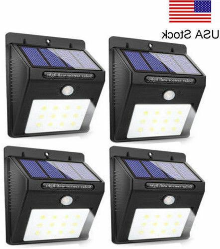 new lamp20 solar lights motion sensor wall