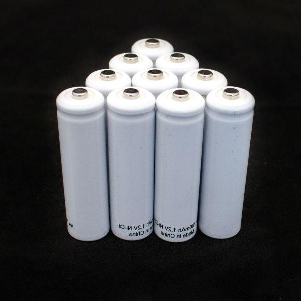 nicad aa battery 10 pack 1 2v