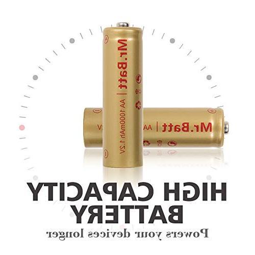 Mr.Batt NiCD AA Batteries for 1.2V