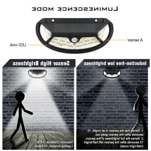 Outdoor 100 Power PIR Sensor Wall Lamp Garden Waterproof