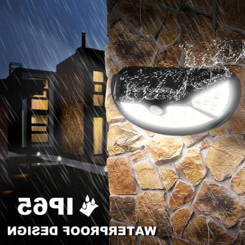 Outdoor LED Power Sensor Wall Waterproof