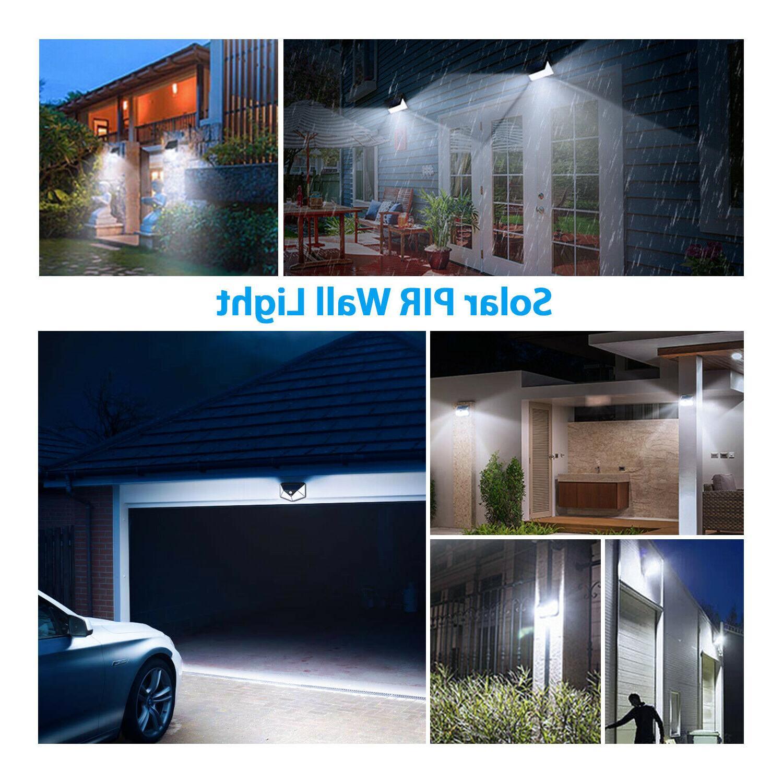 Outdoor Solar Wall Sensor Garden Yard Lamp