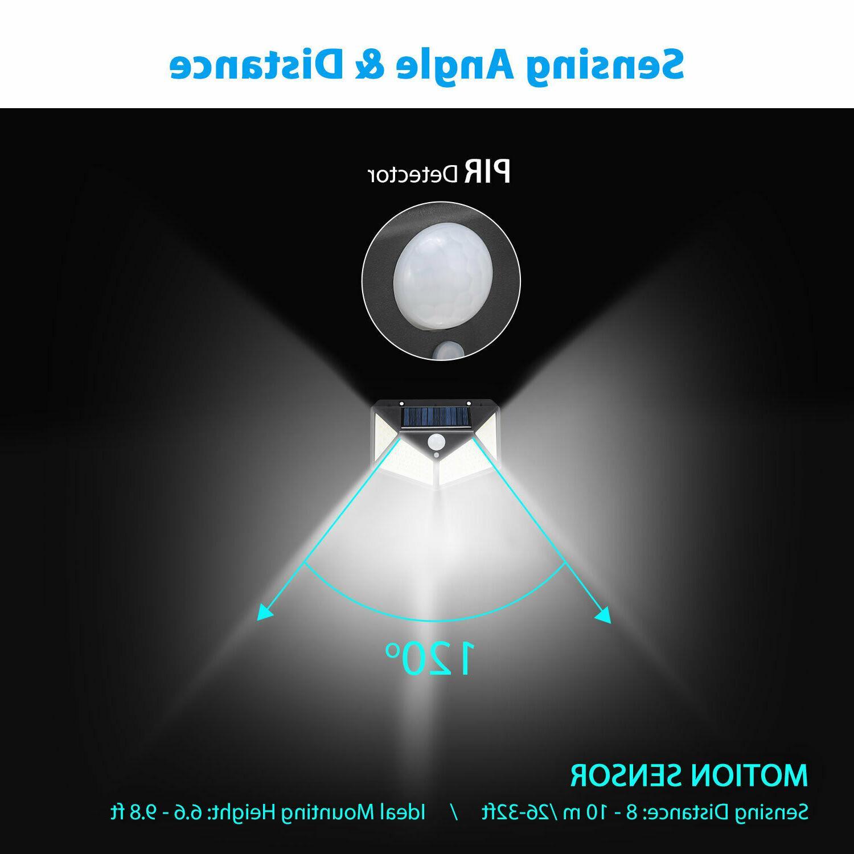 Outdoor LED Wall Lights Sensor Lamp