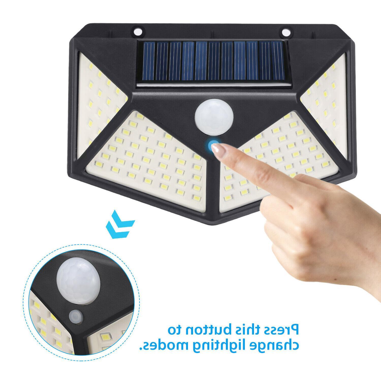 Outdoor Wall Lights Security Sensor Lamp