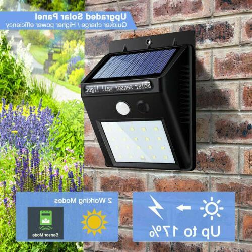 Outdoor LED Solar Wall Motion Sensor
