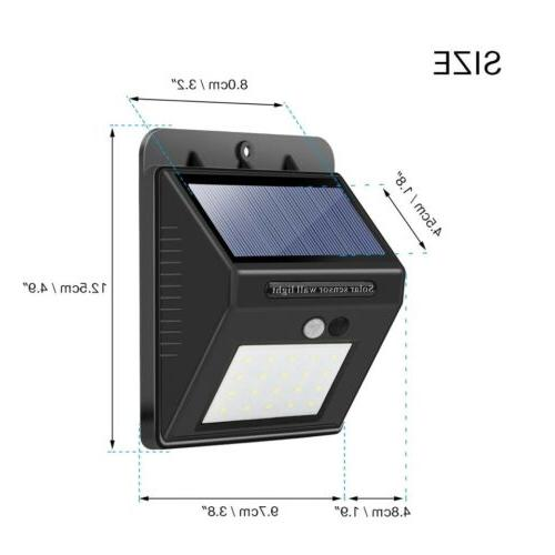 Outdoor Wall Lights Power Motion Path