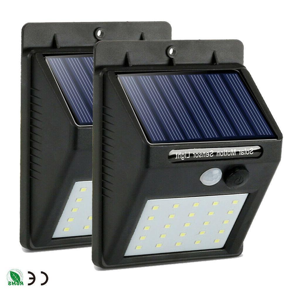 Outdoor 20 Wall Lights PIR Motion Sensor Garden Path Lamp