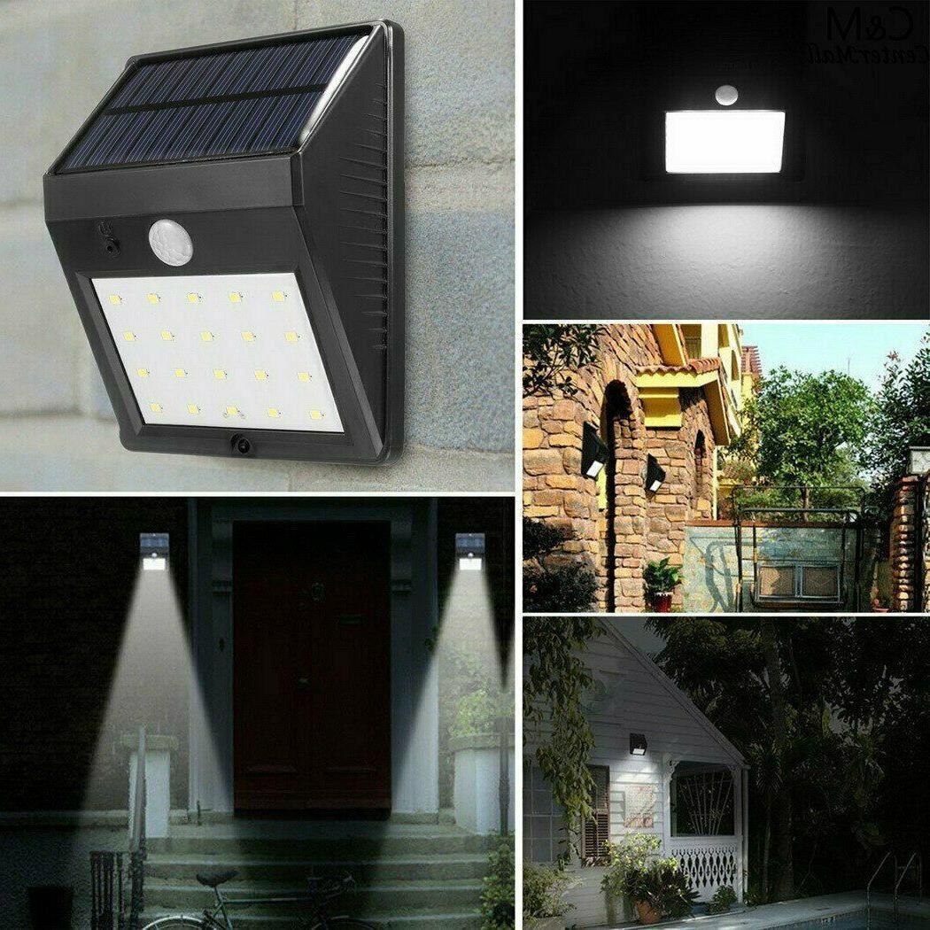 Outdoor Wall Lights Power Motion Sensor Garden Path