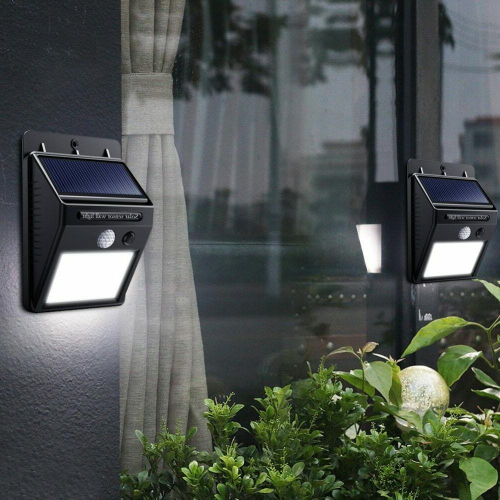 Outdoor Wall Lights Power Motion Sensor Path Lamp