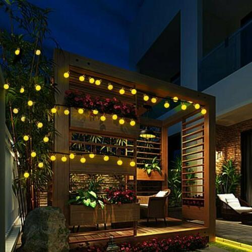 Outdoor 20ft Solar Waterproof Garden Decor