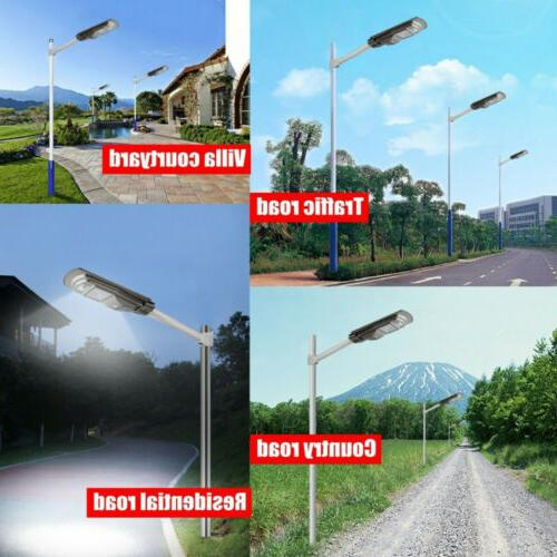 2X 990000LM 90W Solar Light Commercial IP67 Road