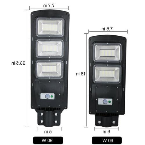 2X Solar Street IP67 Road Lamp