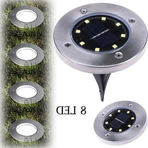 8LED Solar Disk Ground US!!