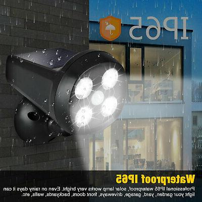 Outdoor Guardian Security Torch LED Spotlight Solar Motion Detector Lights